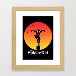 The Spider Kid Framed Art Print