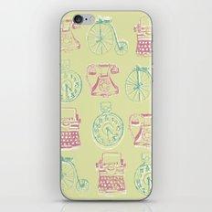 Girly Twist Steampunk Inspired Print iPhone & iPod Skin