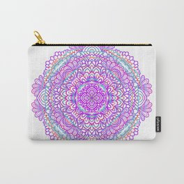 Purple Dress Carry-All Pouch
