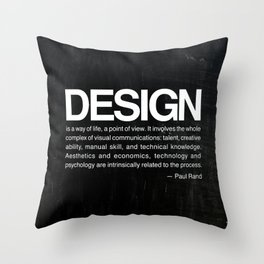 Design is... Throw Pillow