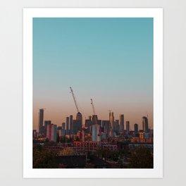 Canary Wharf, London Art Print