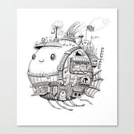 Cebolla Nómade Canvas Print