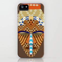 African mask iPhone Case