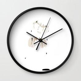 Ink Bendy Wall Clock