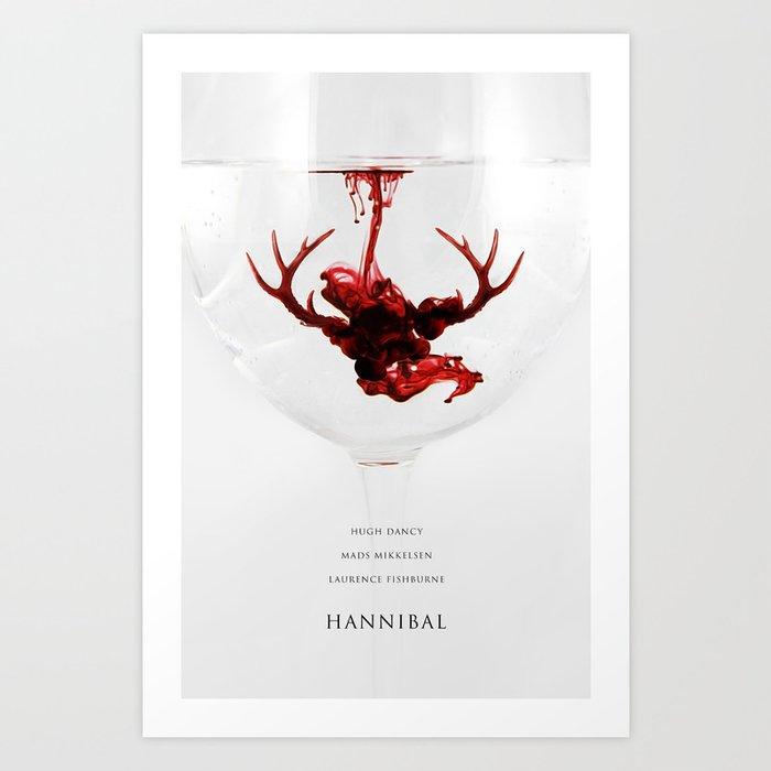 Hannibal (tv series) Art Print