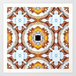 Desert Bloomin Art Print