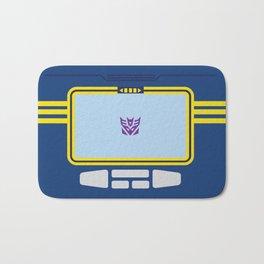 Soundwave Transformers Minimalist Bath Mat