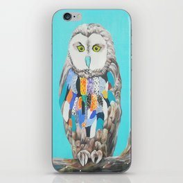 Imaginary owl iPhone Skin