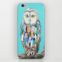 Imaginary owl iPhone Skin