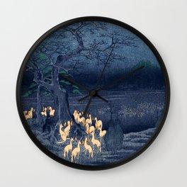 Foxfires at the Changing Tree Wall Clock