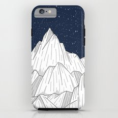 The white mountains under the stars iPhone 6s Tough Case