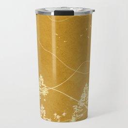 Minimalist Landscape Line Art III Travel Mug