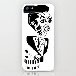 "Art ""Bu"" Blakley Sketch iPhone Case"
