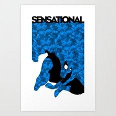 Sensational Art Print