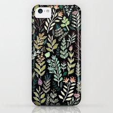 Dark Botanic Slim Case iPhone 5c