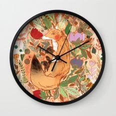 Lost in Nature Wall Clock