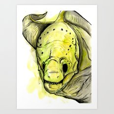 Moray Eel Art Print
