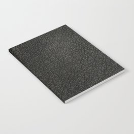 The Black leather Notebook
