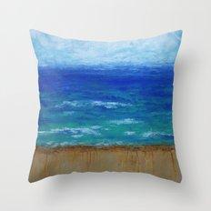 Beach III Throw Pillow