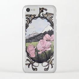 Romanticized 2 Clear iPhone Case