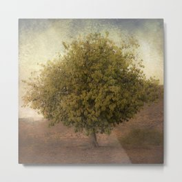 Whimsical Tree Metal Print