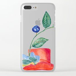 God save the Queen and the flower Clear iPhone Case