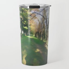Life on the natural brush Travel Mug