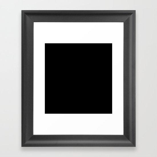 Hairy Heart  Framed Art Print