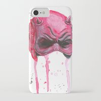 daredevil iPhone & iPod Cases featuring Daredevil by McCoy