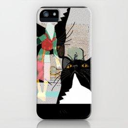Kats Visit Museum iPhone Case