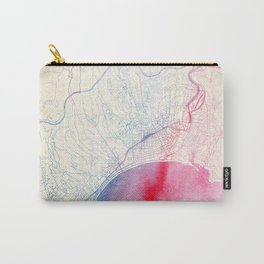 Nizza Map Carry-All Pouch