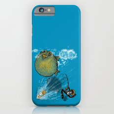 pufferfish baloon iPhone 6s Slim Case
