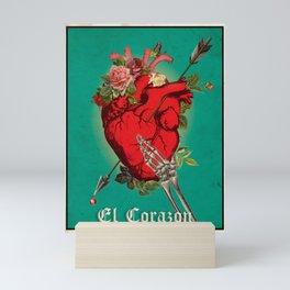 El Corazon Mini Art Print