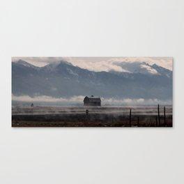 The Winter Storm Canvas Print