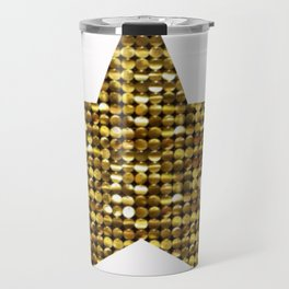 Sparkling Star,golden Travel Mug