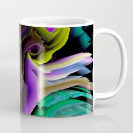 glitch 3d flower art Coffee Mug