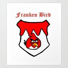 Franken Bird Art Print