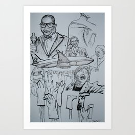 March 2014 Art Print