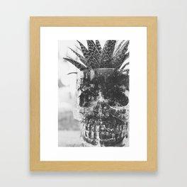 Spooky Succulent Framed Art Print