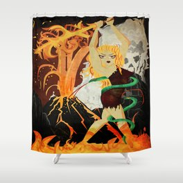 Sinmara Shower Curtain