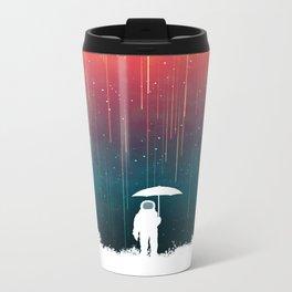 Meteoric rainfall Metal Travel Mug