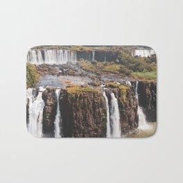 Iguazu Falls Travel Artwork. Bath Mat