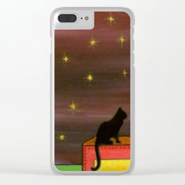 """Moonlight & Silhouettes (i)"" by ICA PAVON Clear iPhone Case"