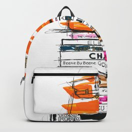 Birkin Bag and Fashion Books Backpack