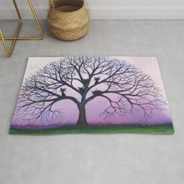 Kennewick Whimsical Cats in Tree Rug