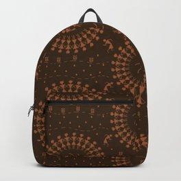 Warli Design Backpack