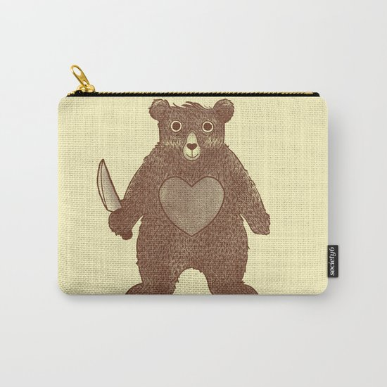 I Love You (Bear) Carry-All Pouch