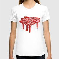 lyrics T-shirts featuring Piano lyrics by saralucasi