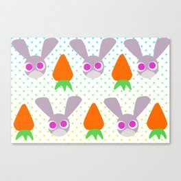 Smart and Cute Canvas Print