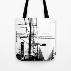 Japan Street Tote Bag